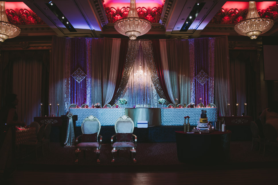 Grand Victorian Wedding Reception