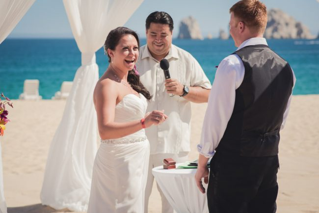Mexico Beach Wedding Ceremony
