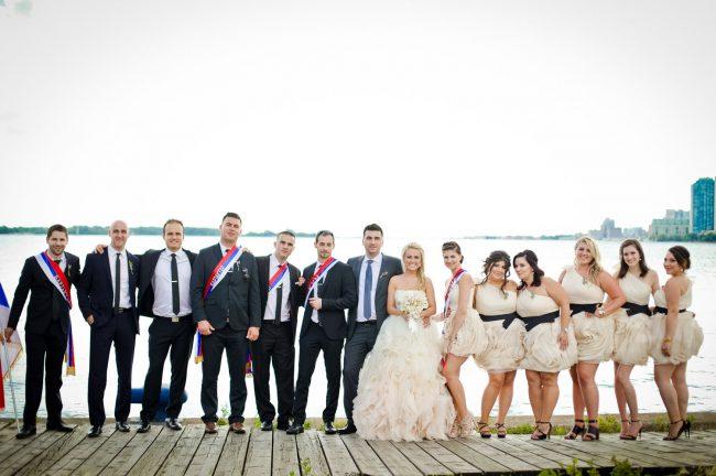 Polson Pier Wedding Photography Toronto
