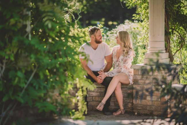 Waterloo Park Engagement Photography