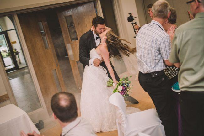 Alma Community Centre Wedding Reception