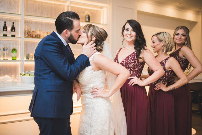 Indoor wedding photography walper hotel