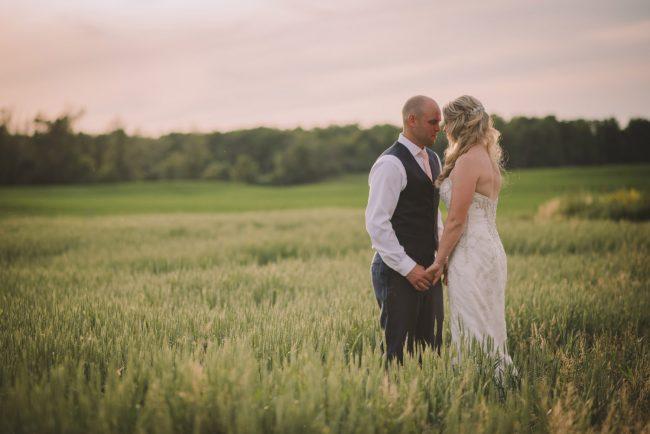 Sunset Wedding Photography Toronto Kitchener Guelph