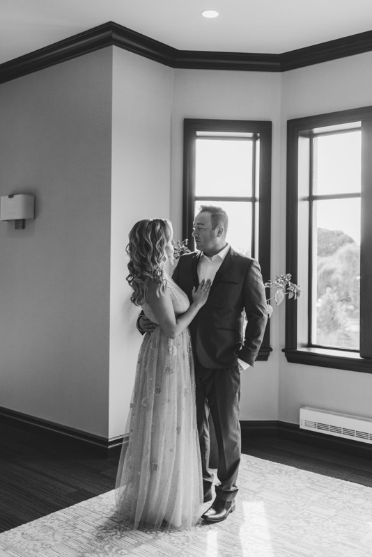Bruce Hotel Stratford First Look Wedding Photography