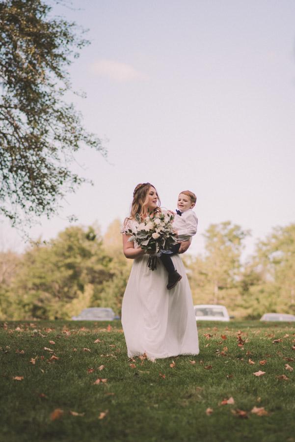 Guelph Arboretum Autumn Wedding Photography