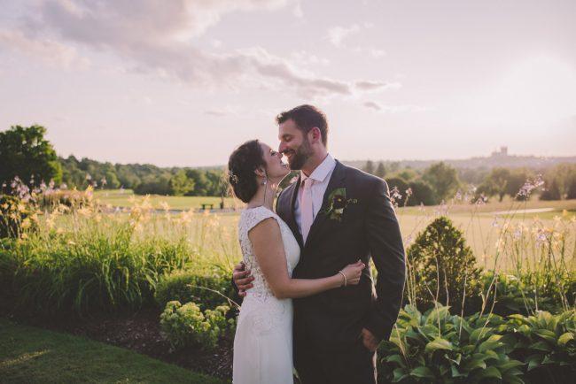 Sunset Wedding Photography