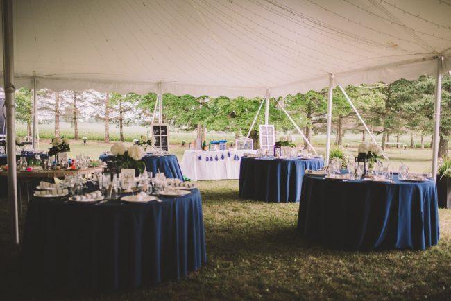 Tent Wedding Reception Guelph Ontario