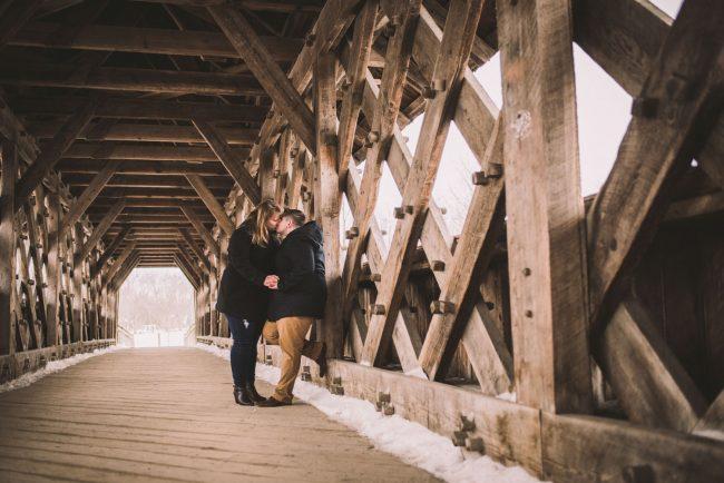 Beautiful Guelph Winter Wedding