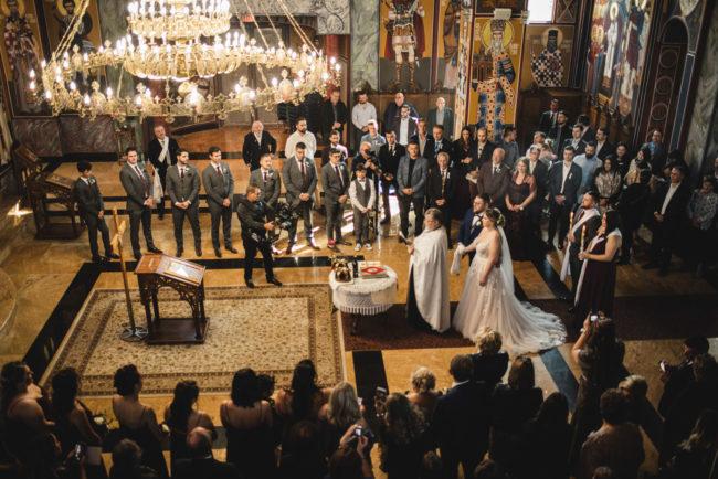 St. Sava Mississauga wedding