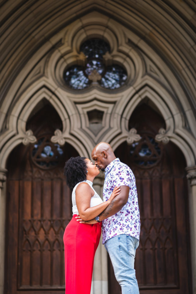 Cathedral Church St James Engagement Photography Toronto