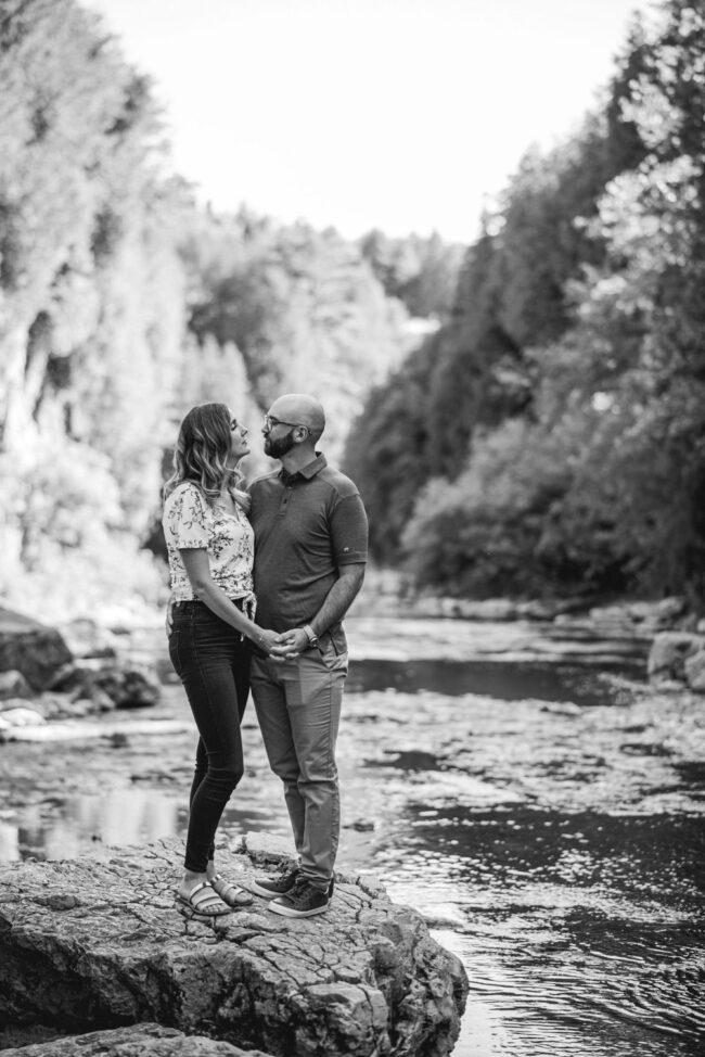 Elora Gorge Engagement Photography