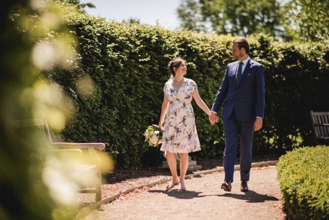 Guelph mini-wedding photography arboretum