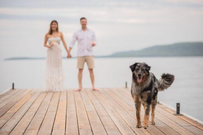 Lake Huron engagement photoshoot